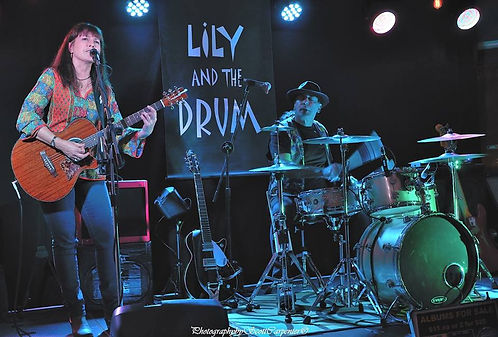 Lily and the Drum