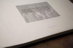 Letterpress Photo Album