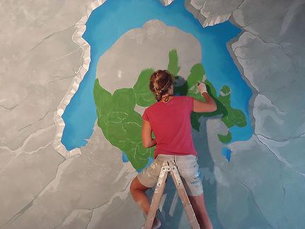 Pittura murale - Olimpia Benini