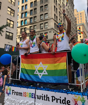 Consulate General of Israel in New York Pride Float