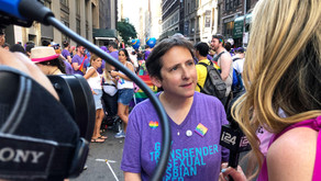 Rabbi Sharon Kleinbaum, spiritual leader of LGBTQ+ synagogue: CBST