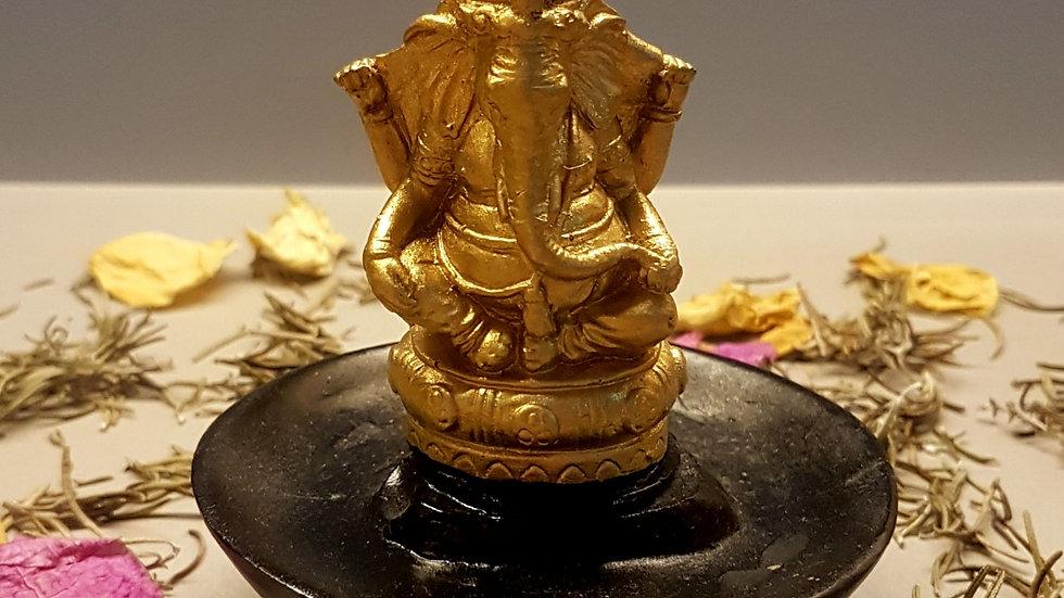 Incensário cascata Redondo Ganesha