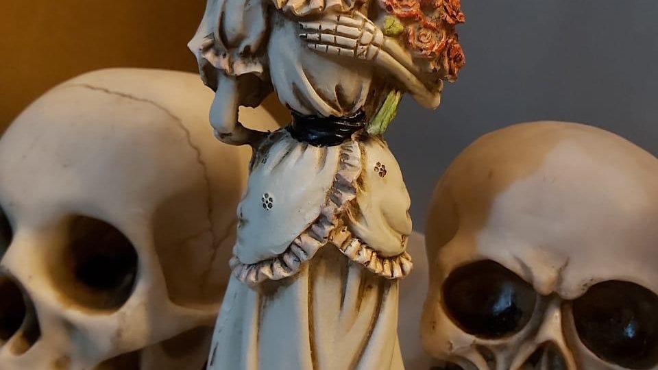 Imagem esqueleto noiva 25cm