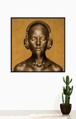 Golden Tones - 153cm x 183cm x 5.0cm