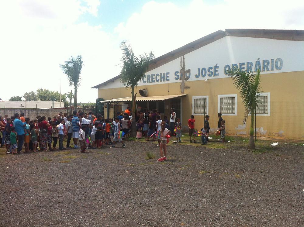 Creche São José Operário - Estrutural