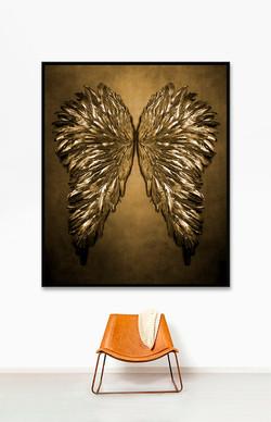 Wings - 153cm x 183cm x 5.0cm