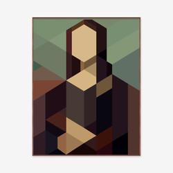 Mona - 143cm x 183cm x 5,0cm