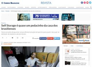 A Home Stock - Self Storage marca presença na Revista do Correio Braziliense - 15/10/2017