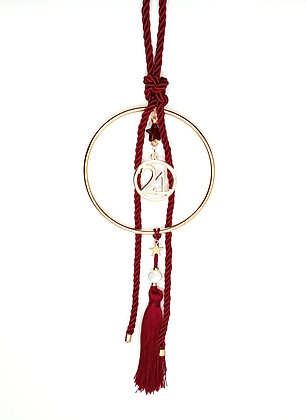 Lucky Charm 2021 Gold Dark Red