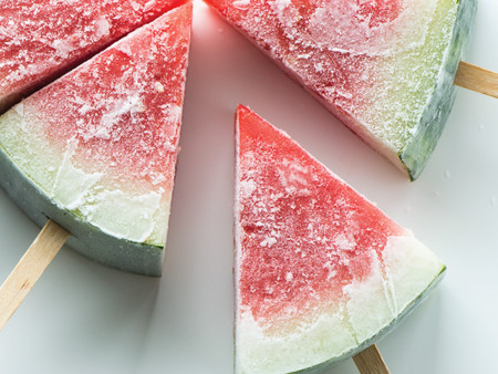 Summer Snack Idea: Watermelon Popsicles
