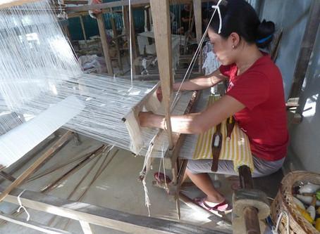 Weaving villages in Vietnam