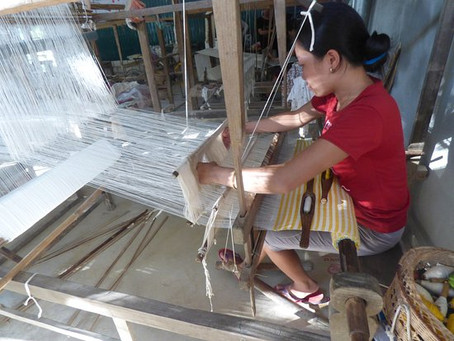 Weaving villages in Vietnam