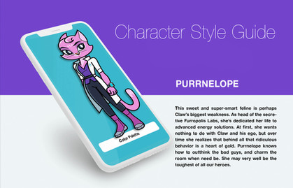 CHARACTER STYLE GUIDE