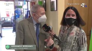 TV Aragon Abierto.Farmacéuticos solidarios