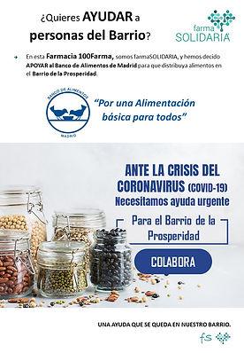 Proyecto Banco de Alimentos Madrid_farma