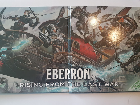 UKGE Best Expansion Category: Eberron DM's Screen