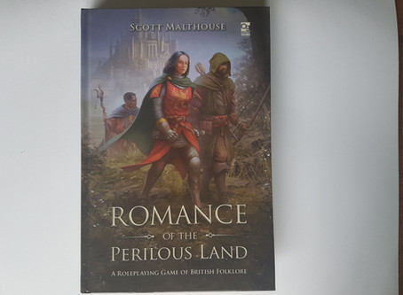 UKGE Best RPG Category: Romance of the Perilous Land