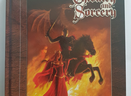 UKGE Best RPG Category: Chivalry and Sorcery 5th Edition