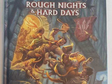 UKGE Best Adventure Category: Rough Nights and Hard Days