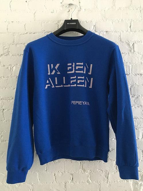 IK BEN ALLEEN sweater