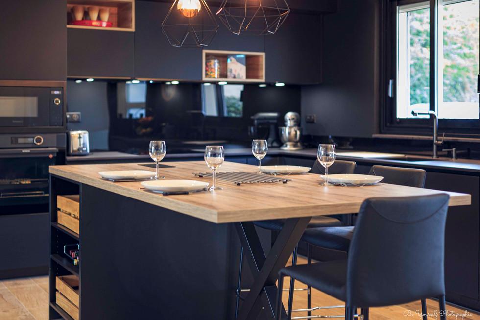 Cocinea - Cuisine Cube - photographe Arc