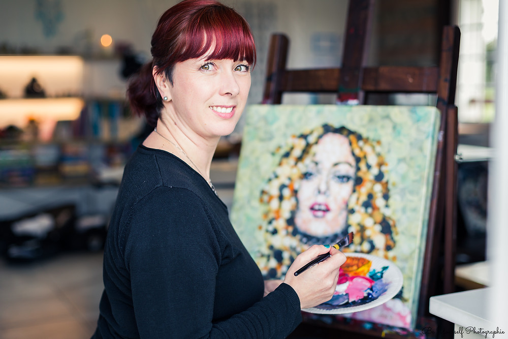 Ma Vie, Ma Passion : Ariane Baffie , Artiste peintre