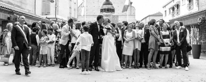 Mariage Toulouse - Sortie de Marie -  Photographe Toulouse -