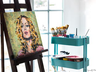 Ariane - Artiste Peintre - Be Yourself P