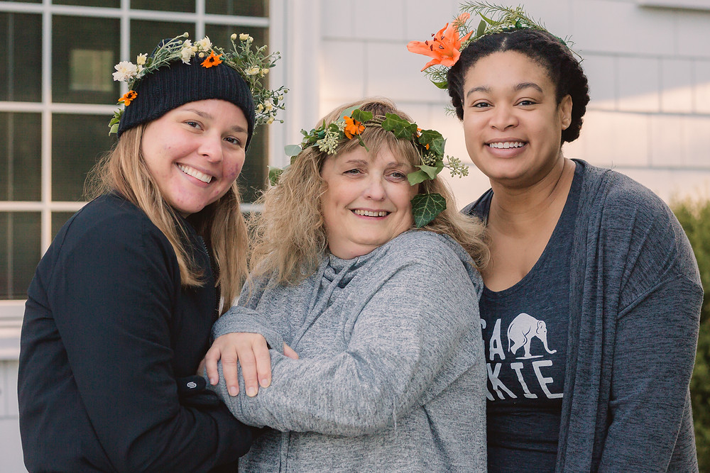Michelle Ostermyer, Donna Seed, Gena Collier at Wild in the Woods Toledo Mary Wyar Photography
