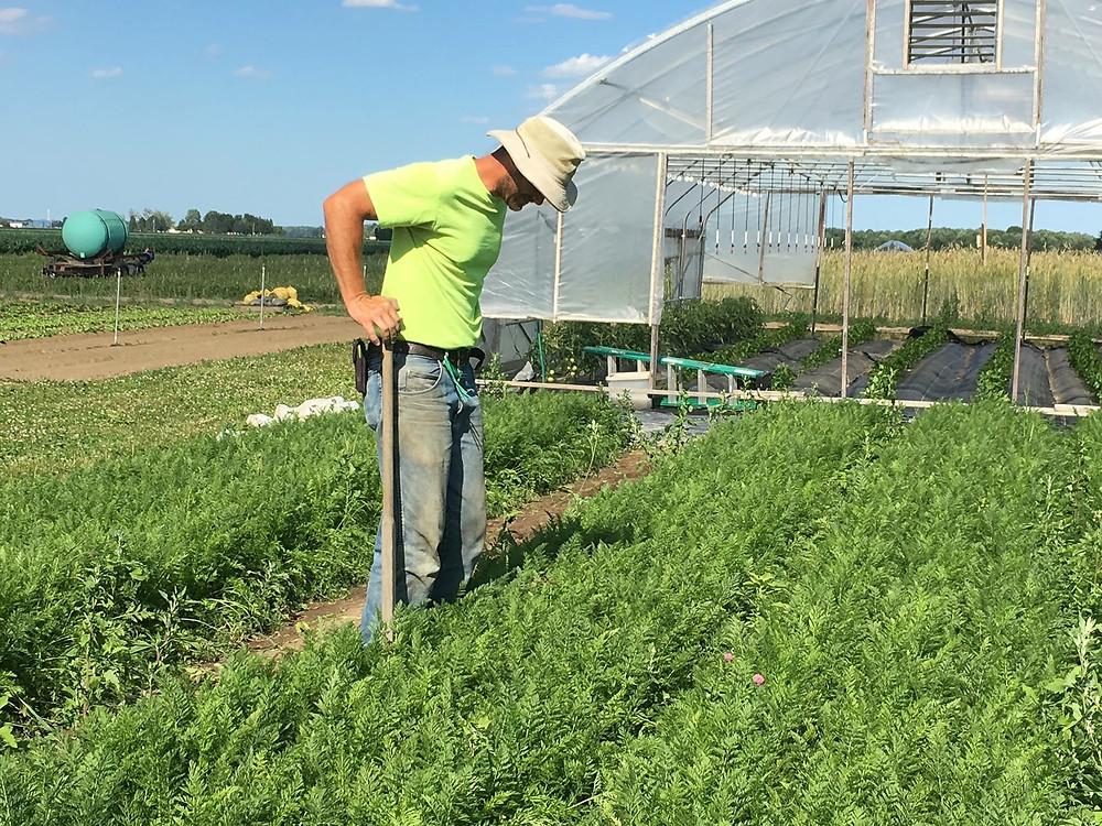 Farmer Kurt Shared Legacy Farms