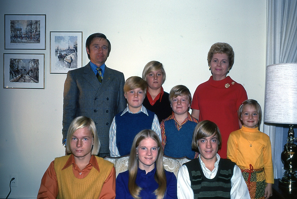 Mihaly family circa 1970