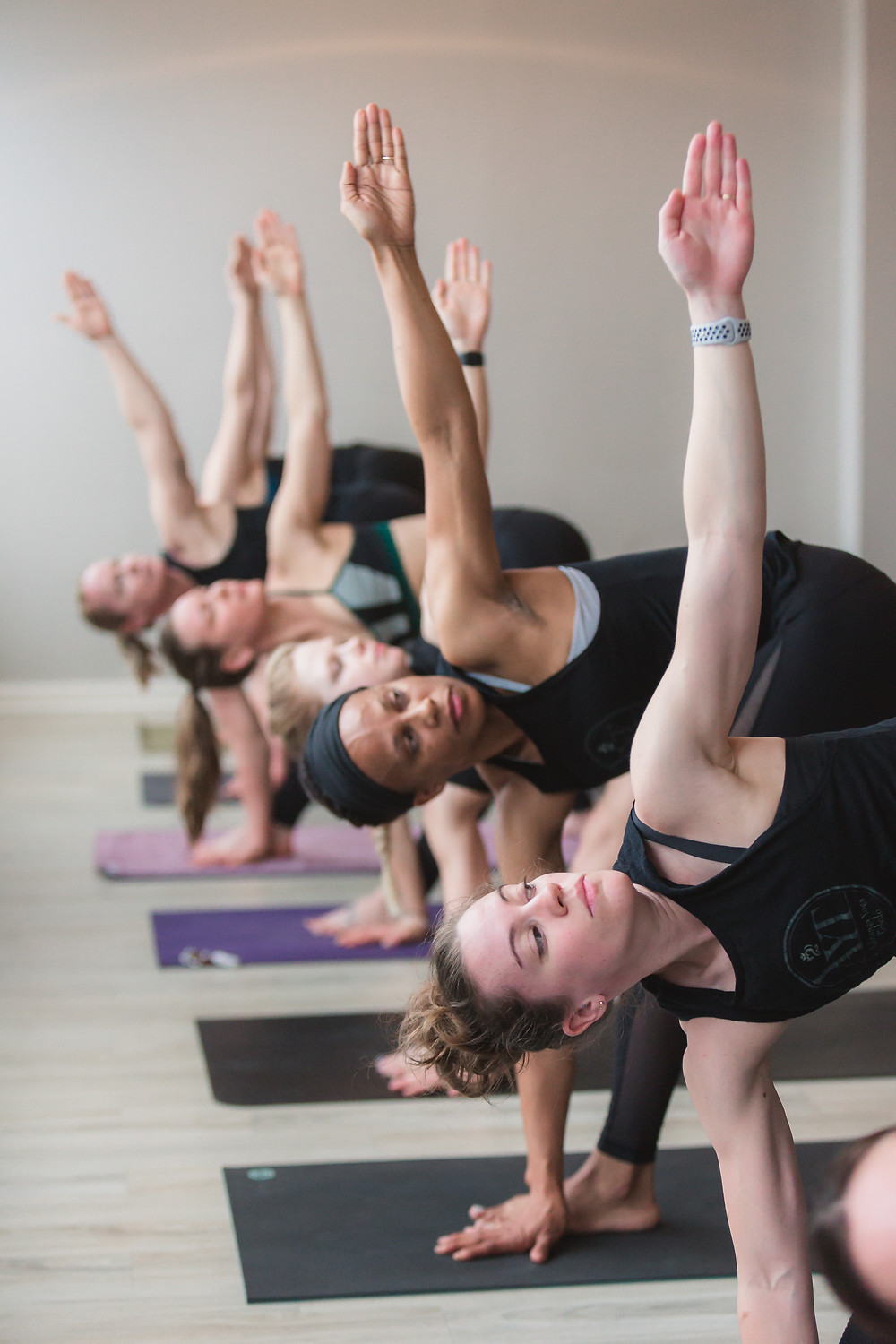 Ashtanga Led-Primary at Yogaja Yoga Toledo by Mary Wyar Photography