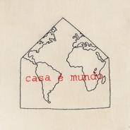 Casa é mundo [detalhe], 2020  Bordado sobre linho Dimensões: 15 cm x 15 cm Fotografia: Junior Luis Paulo