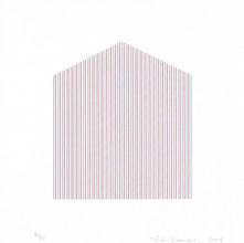 Homenagem a Dionísio Del Santo, 2017  Serigrafia sobre papel Dimensões: 18 cm x 18 cm  Edição: 50 impressões + P.A. e P.E.
