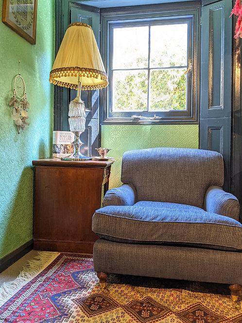 Handmade Howard Armchair - Edinburgh Highland Blue