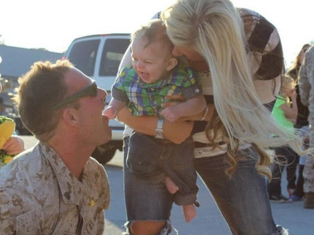 Military wife shares importance of self-care after husband's PTSD diagnosis