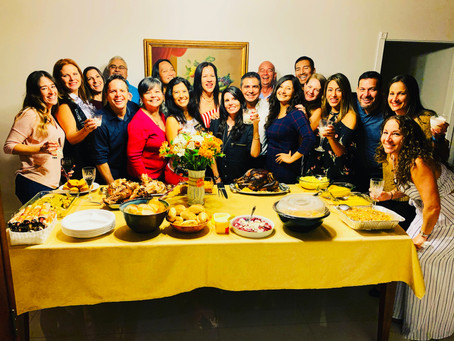 Run Club Potluck Friendsgiving Features 19 Runners and 3 Normal People