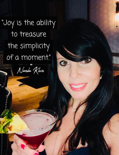 Joy is...