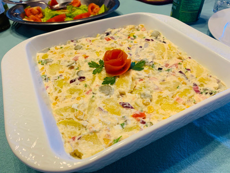 Nanda's Brazilian-Style Potato Salad