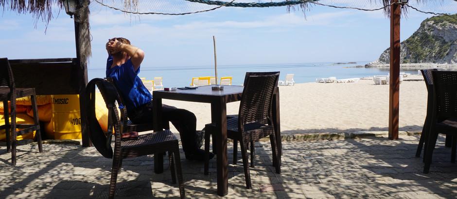 Schwarzer Kaffee am schwarzen Meer!