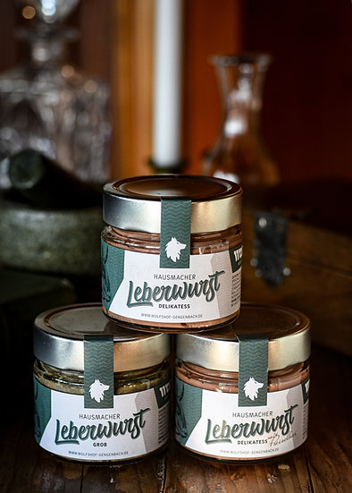 Leberwurst vom Highland Cattle (160g)