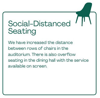Social Distanced Seating