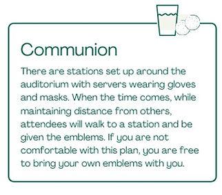 Communion Modifications
