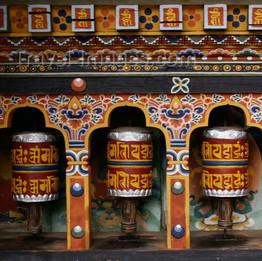 Tibet prayer wheel