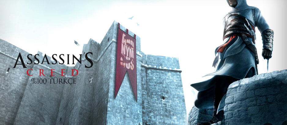 Assassin's Creed Türkçe Yaması Yayınlandı!