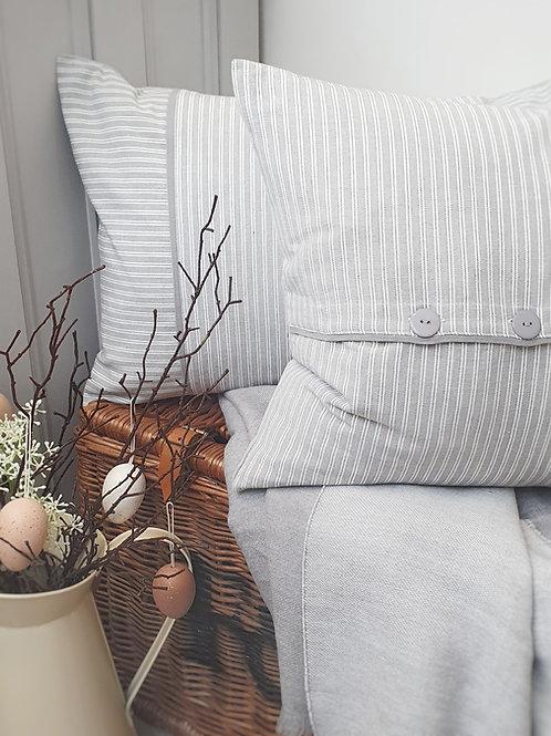 Holybourne Square Ticking Cushion