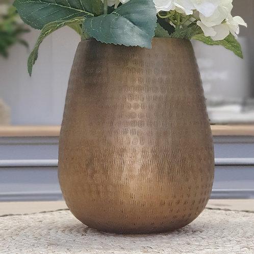 Bronte Bronze Vase