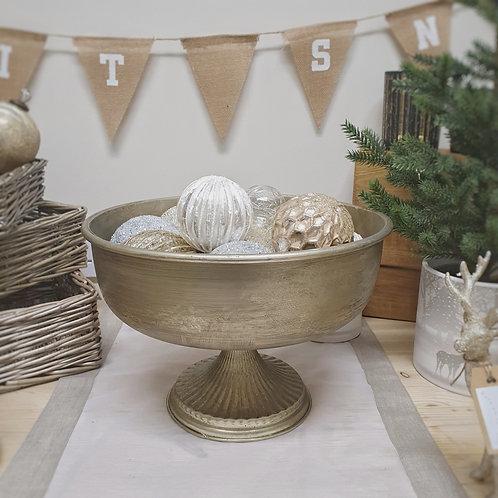 Brushed Gold Bowl