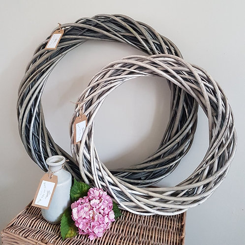 Large Grey Willow Wreath