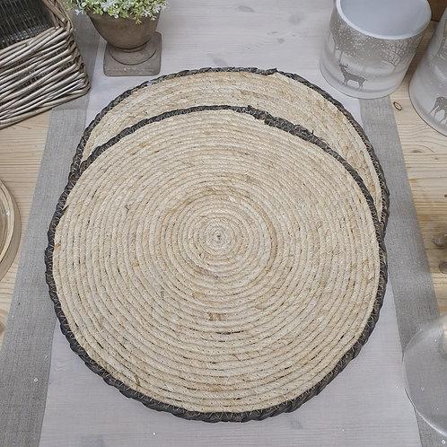 Set of 2 Natural Maize Place mats